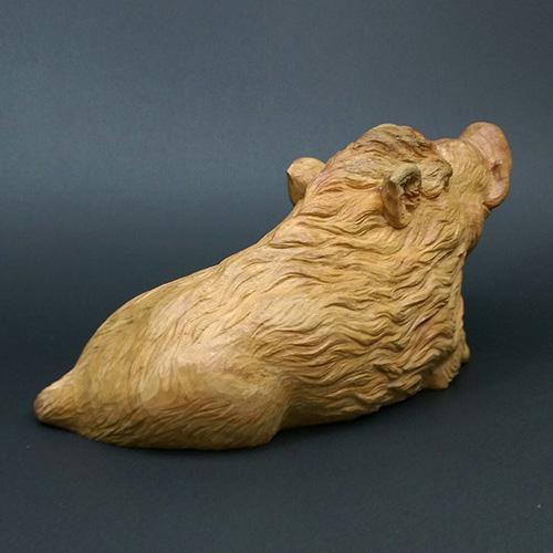 猪 台なし 素材:楠