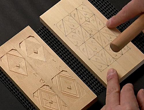 地紋彫り Aセット