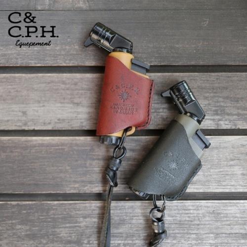 シーアンドシーピーエイチイクイップメント C&C.P.H. EQUIPEMENT MICRO TORCH CASE ( Olive oil leather )