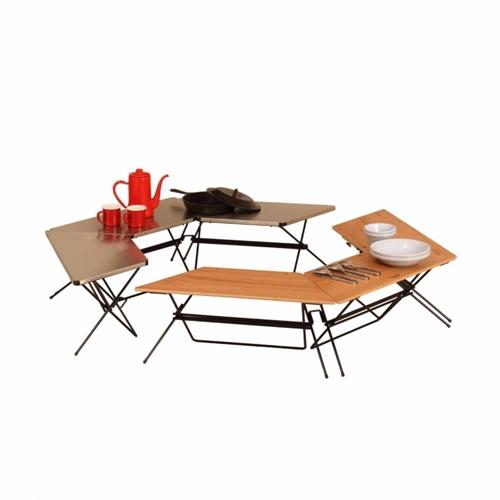 ハングアウト アーチテーブル (ステンレストップ)  Hang Out Arch Table(Stainless Top)