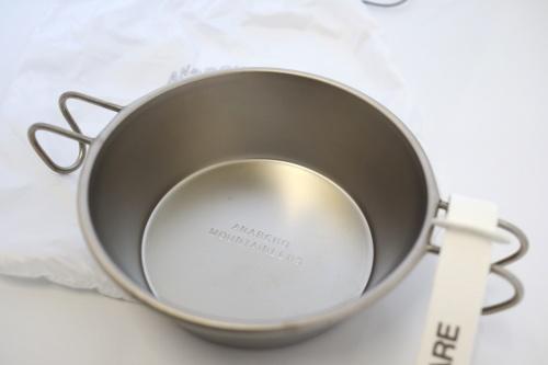 マウンテンリサーチ Mountain Research  Anarcho Cups Solo (Titanium)