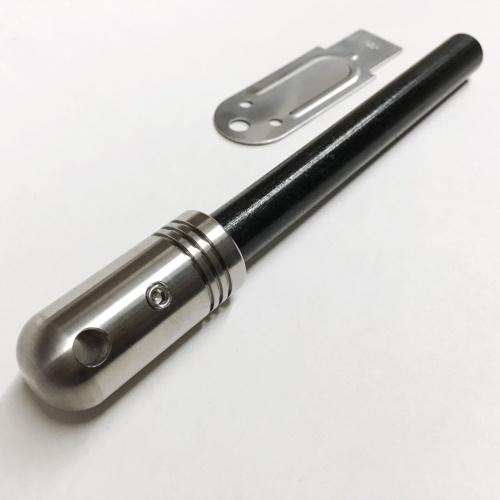 野良道具製作所 チタンハンドル メタルマッチ 「 野良スティック Ti 」 極太13mm径 ストライカー1点付属