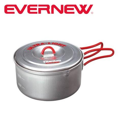 エバニュー EVERNEW チタンウルトラライトクッカー2 RED