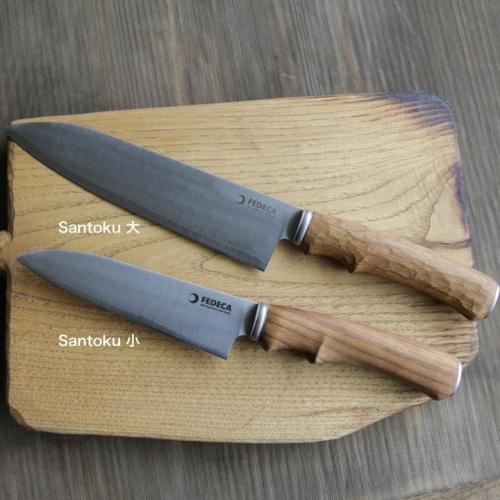 フェデカ FEDECA It's my knife Santoku 小 ( ステンレス鋼 / 銀紙三号 )