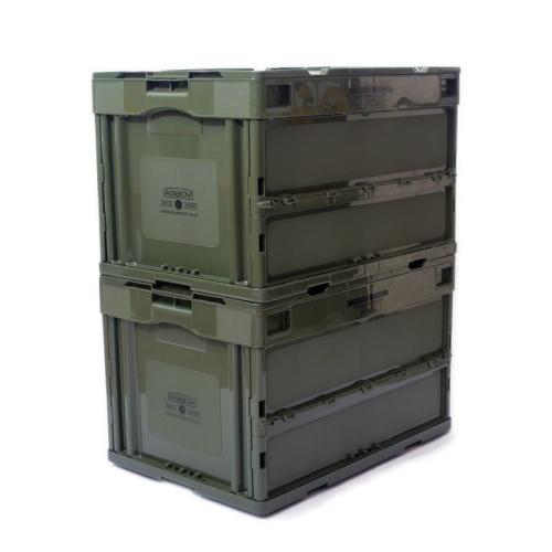アッソブ AS2OV フォールディングボックス コンテナ 50L FOLDING BOX