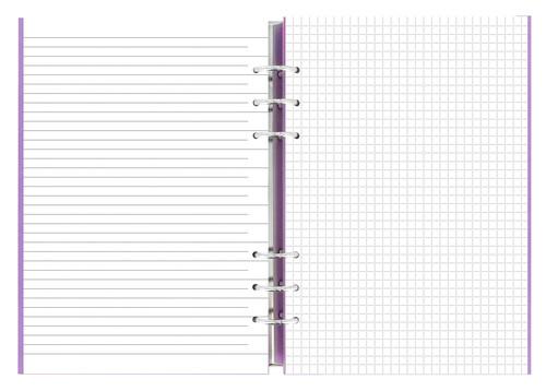 クリップブック(clipbook) A5 オーキッド ファイロファックス