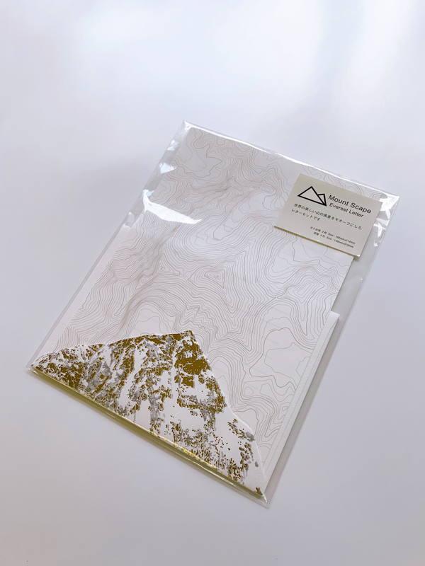 Mt Scape Gold Letter  MSC002 エベレストレターセット