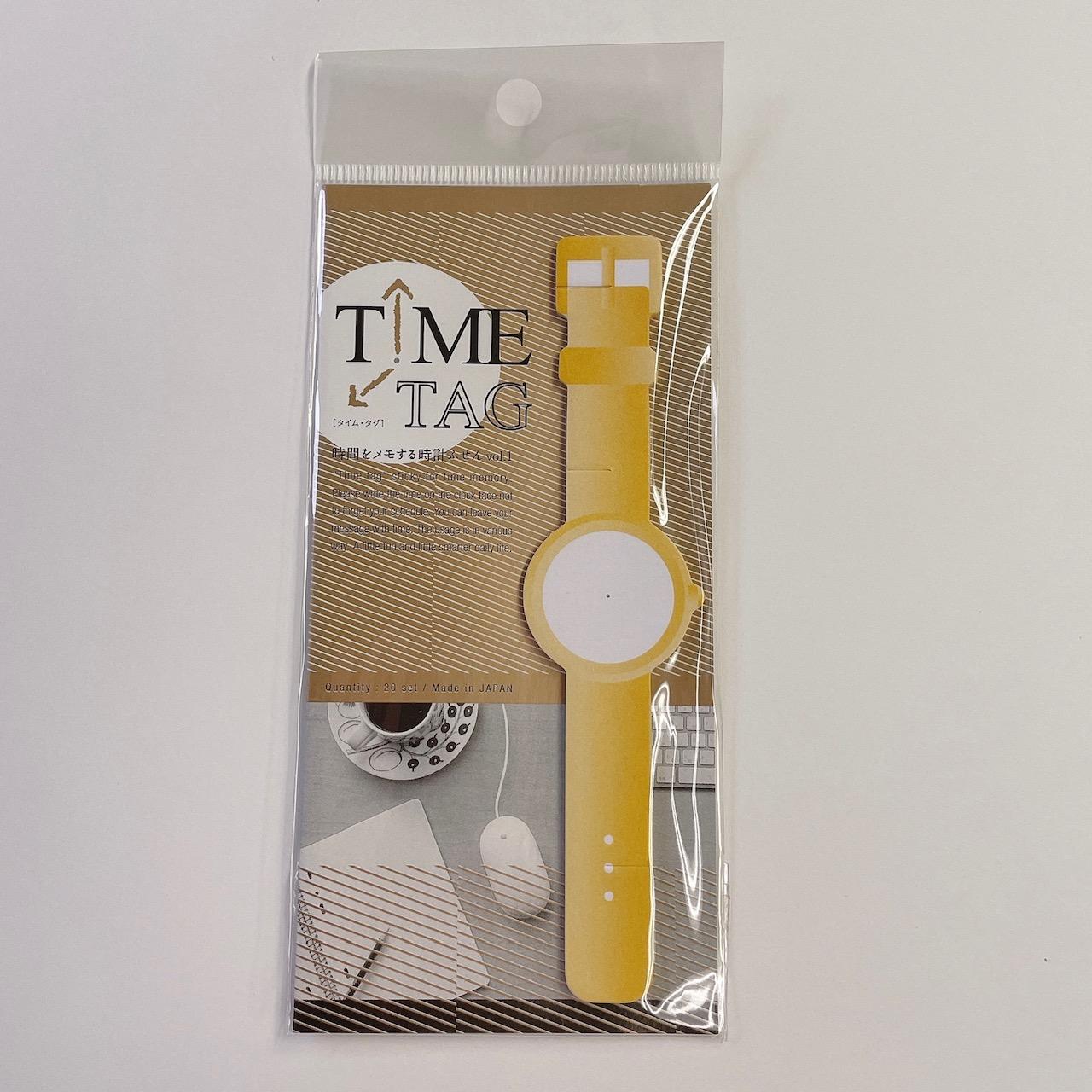 JMT001 TimeTag時間をメモする時計付箋Vol1