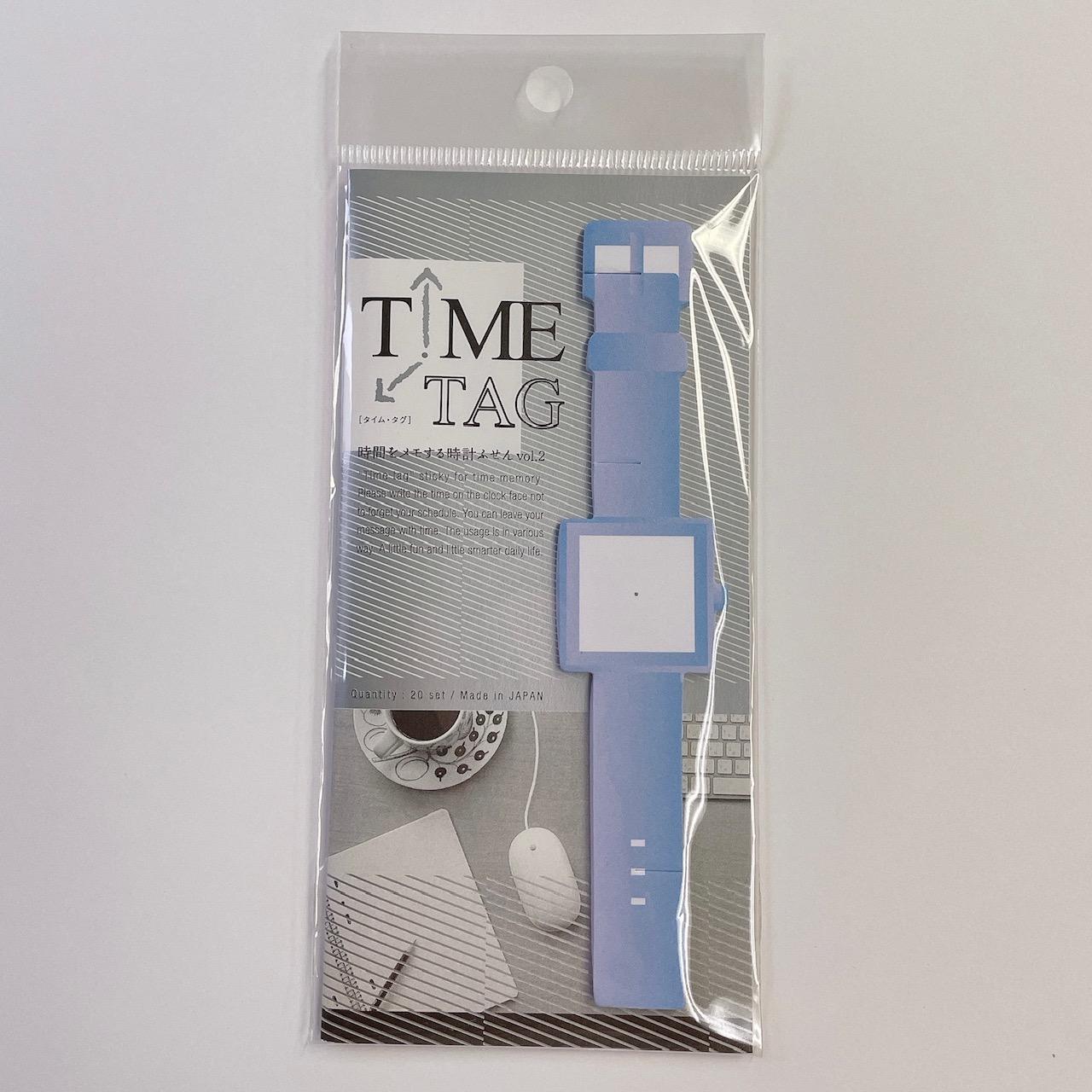 JMT002 TimeTag時間をメモする時計付箋Vol2