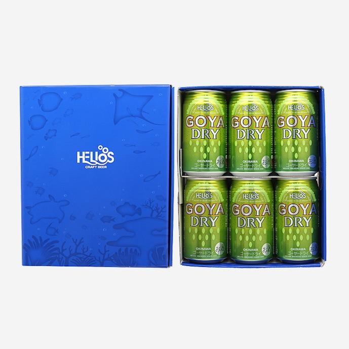 【ギフト箱入り】ゴーヤーDRY5%350ml(缶)×6本【ギフトセット】