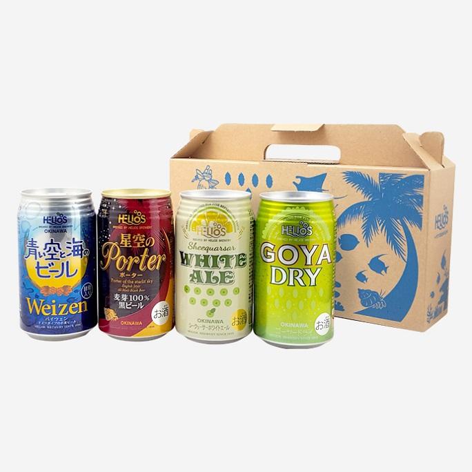 ★送料無料★クラフトビールオンラインフェス参加者様限定★ヘリオスクラフトビールアソート4缶セット