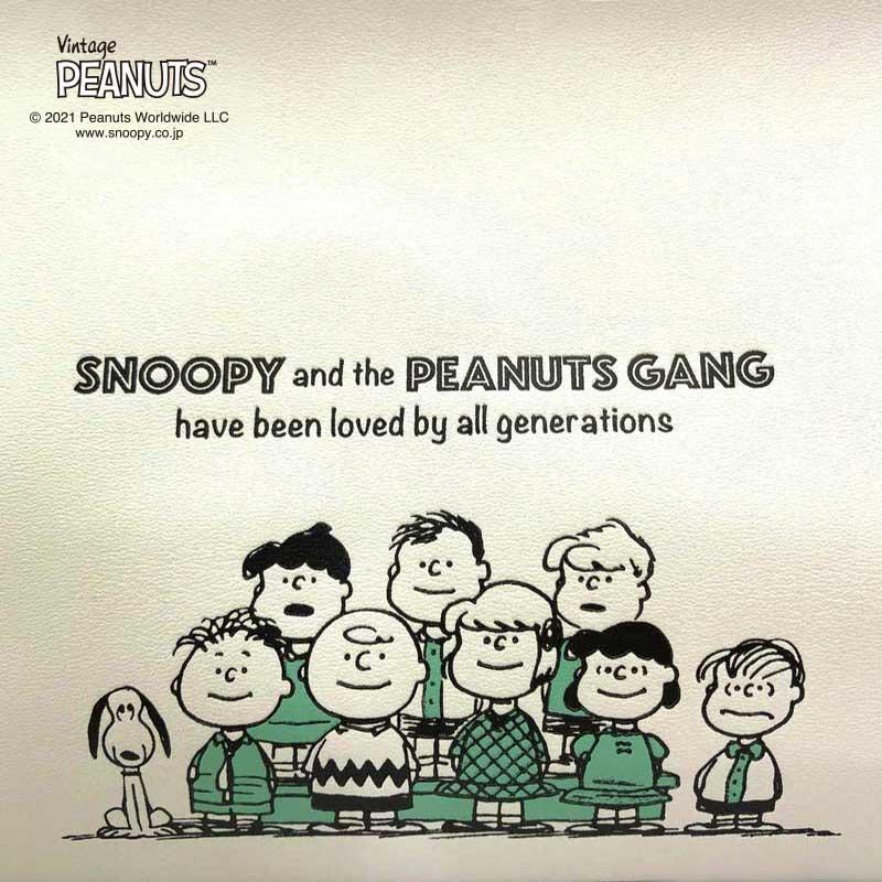 【tente】Vintage Peanuts tente /70th 合成皮革(2色)