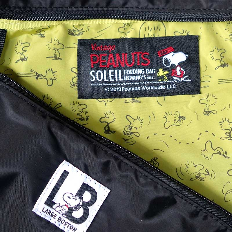 【SOLEIL】 Peanuts ボストン(2柄)