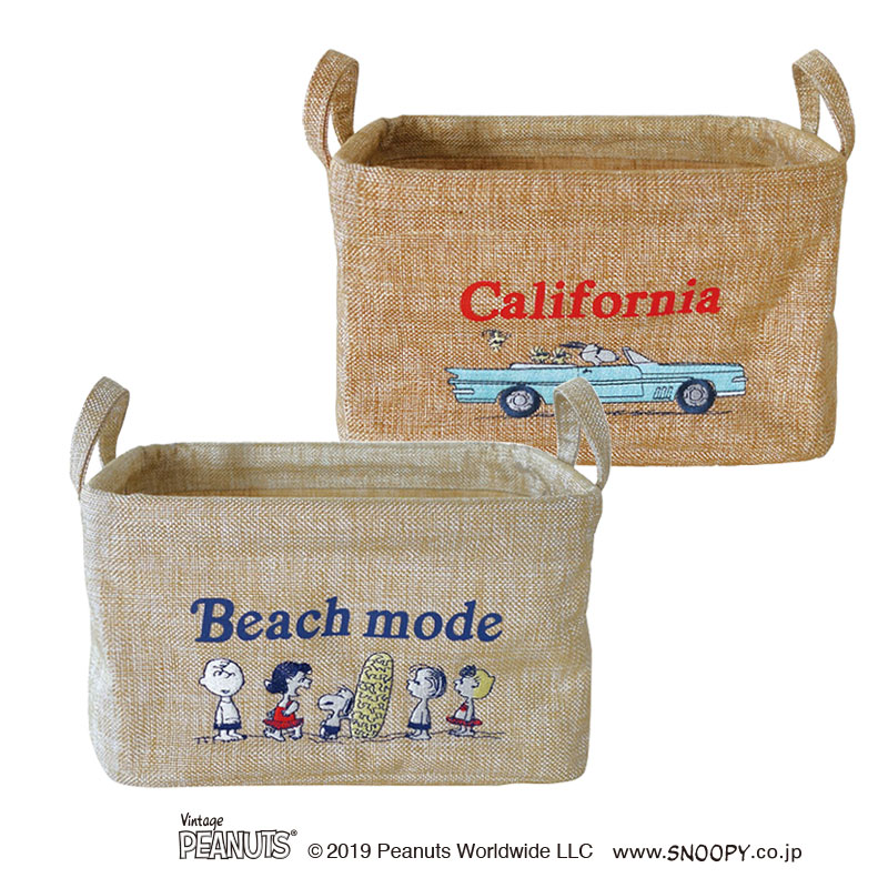 【pilier】 Vintage Peanuts SQ[SS]/ CALIFORNIA (2柄)