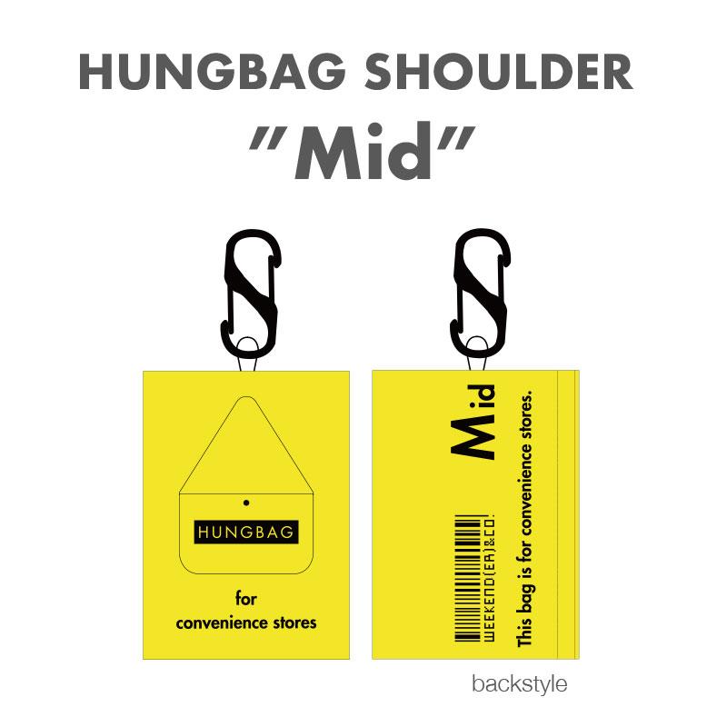 2021SS【WKD/ER】 HUNGBAGショルダーMid エコバッグ(3色)