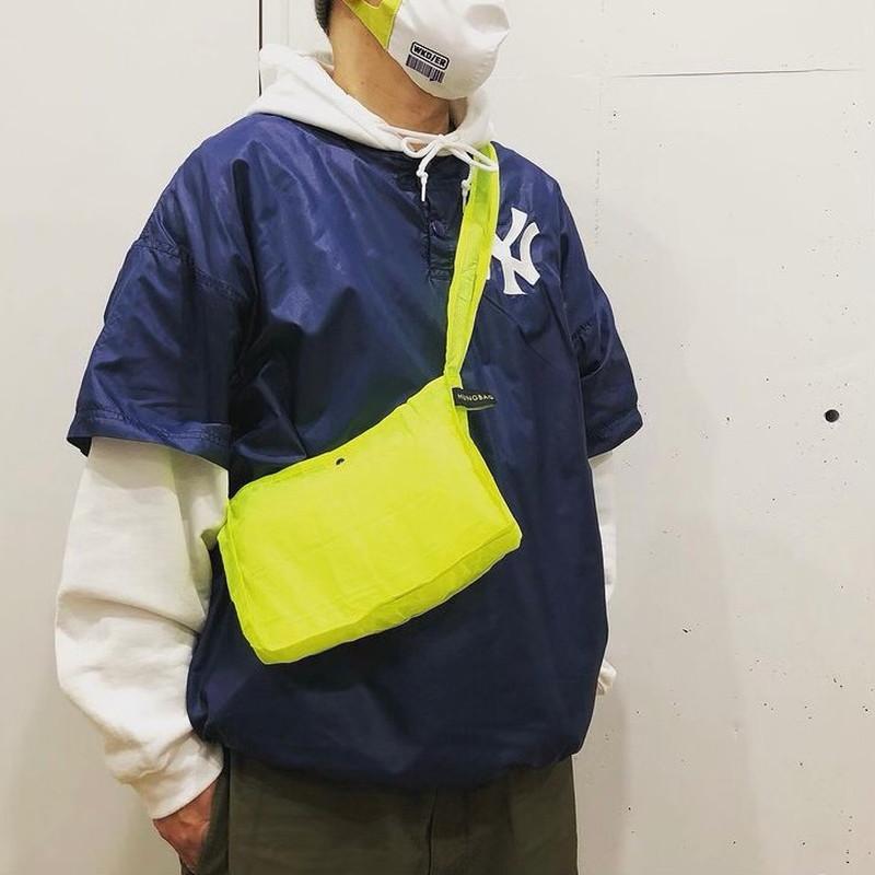 2021SS【WKD/ER】 HUNGBAGショルダーSmall エコバッグ(3色)