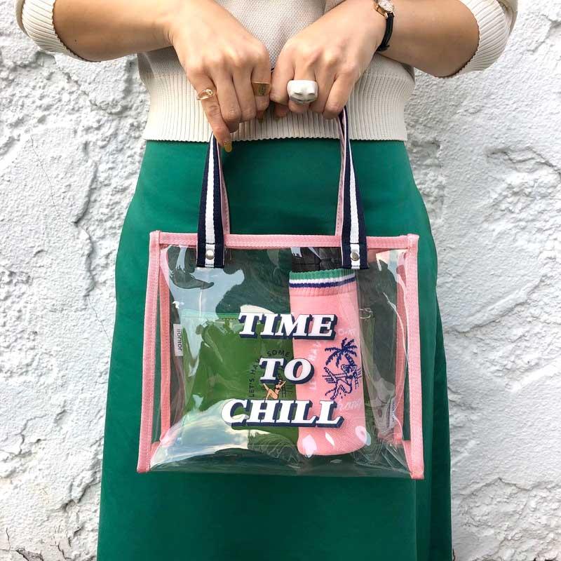 オンライン限定SALE 2020SS【Martコラボ 】ビニールバッグ(2色)