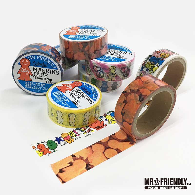 【MRF】 FR.マスキングテープ (6柄)