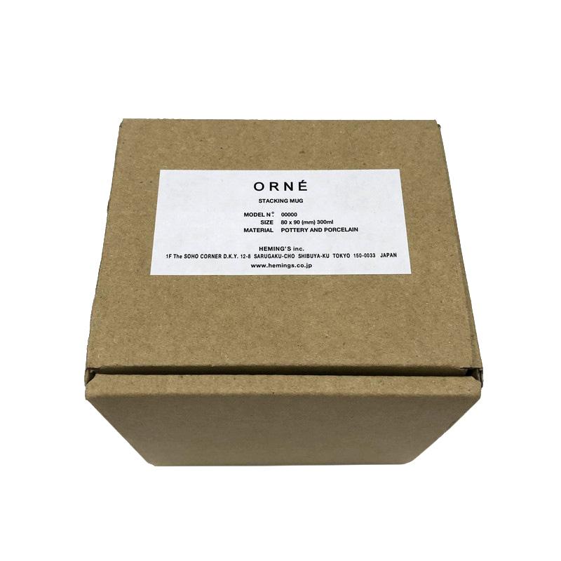 【ORNE】レススタッキングマグ(2色)