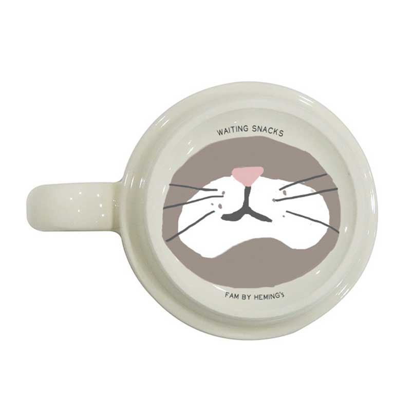 【fam】ファニースタッキングマグカップ (4柄)