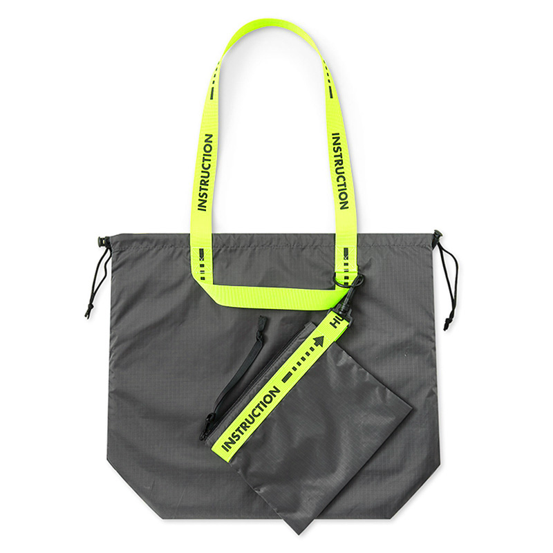 【WKD/ER】 Packable nylon totebag (5色)