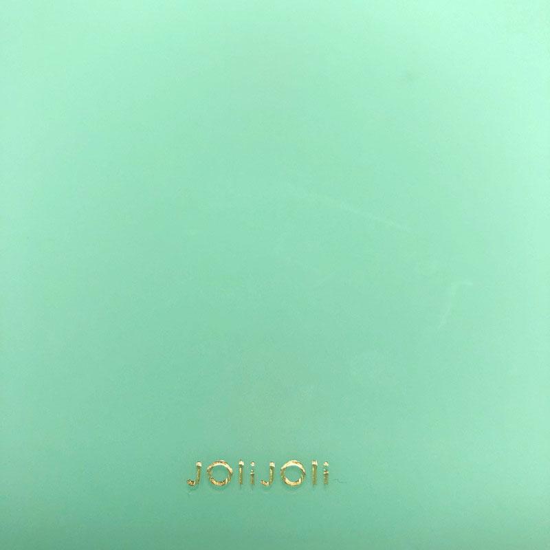 2021SS【JoliJoli】グラッセオープンポーチ(4色)ビニールポーチ