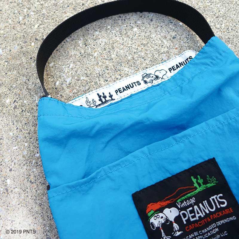【Peanuts】 パッカブルバッグ S(4色)