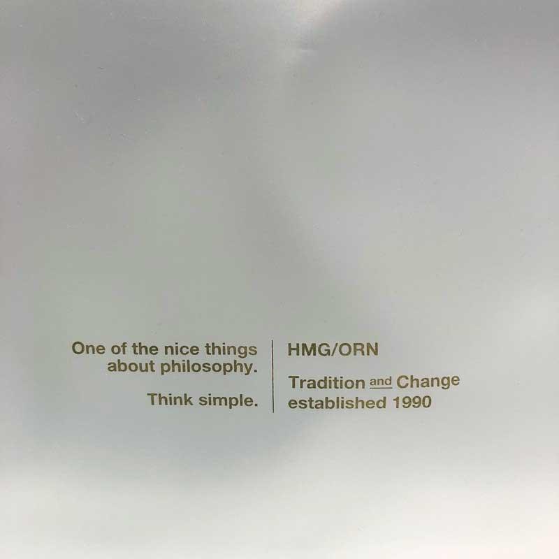 2021SS【ORNE】オープンクローズ ハンディポーチ(2種類)