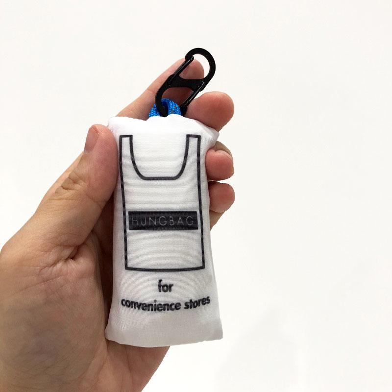 限定5倍ポイント!新色入荷!UOMO2020年10月号掲載【WKD/ER】 HUNGBAG - Mid エコバッグ(4色)