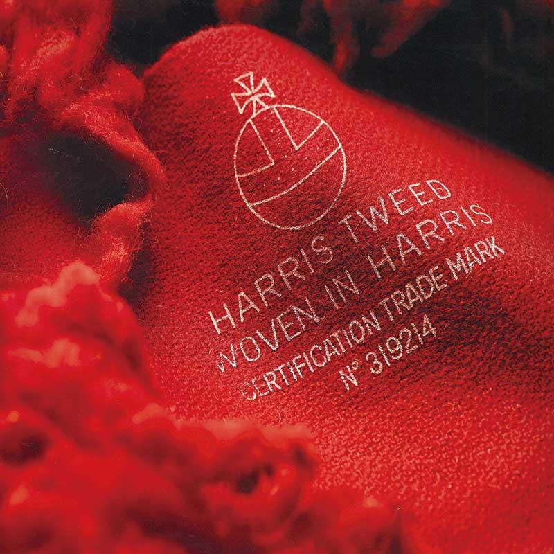 オンライン限定SALE! 2020AW【Harris Tweed】 リブグローブ(4色)