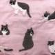 2020SS【JoliJoli】 メーキャップスクエアポーチ Cat ねこ