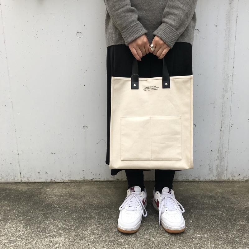 オンライン限定SALE【2021SS】ウォールトート(4色)大容量トートバッグ