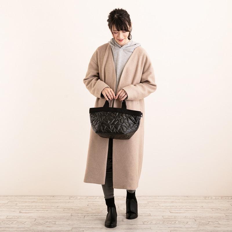 オンラインストア限定ポイント10倍【RT】デリ キルティングスタートートバッグ(2色)