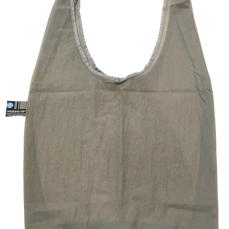 【WKD/ER】 Thin fabric shoppingbag(5色)