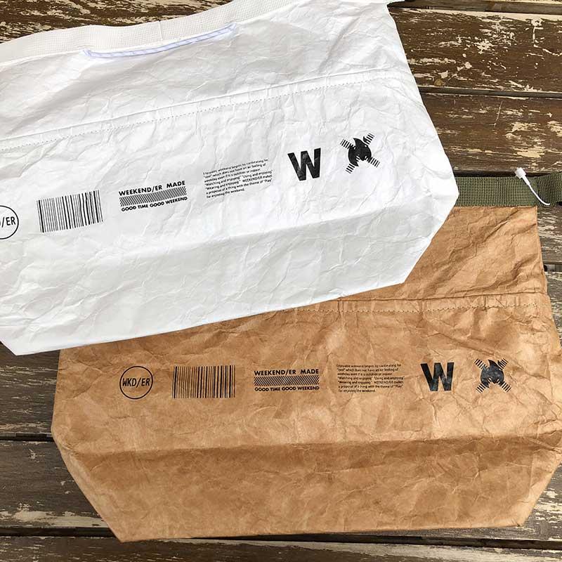 限定10倍ポイント!2021SS【WKD/ER】グロッサリーランチクールバッグ ランチバッグ(2色)