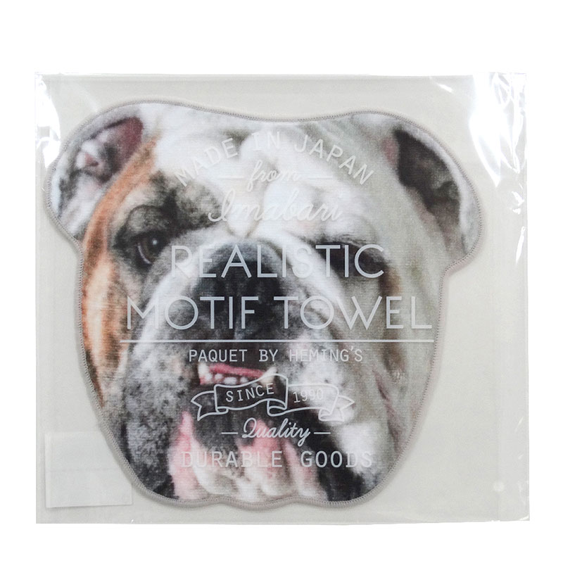 【Realistic Motif Towel】 DOG-A(4柄)