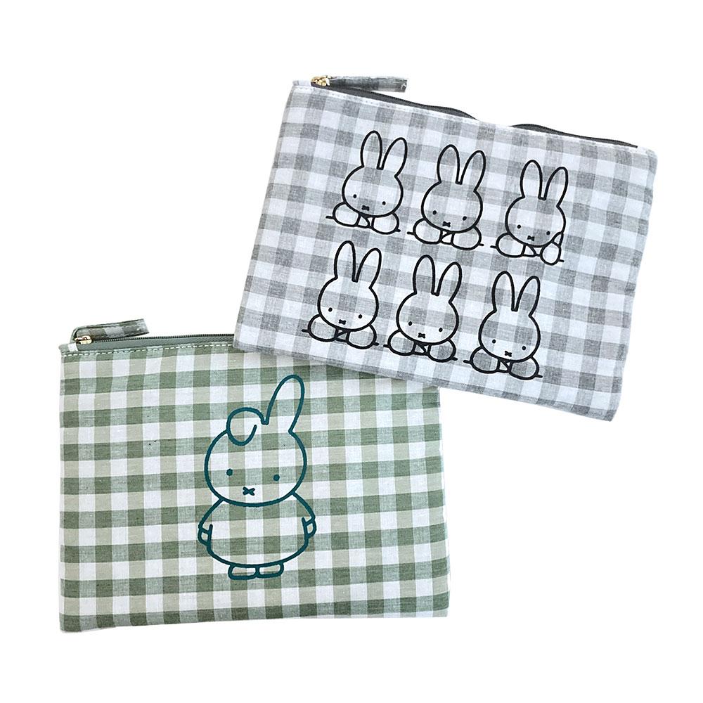 新作!【miffy】コレクターズポーチ Dick Bruna ミッフィー(4色)