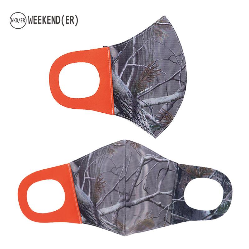 限定10倍ポイント!2021SS【WKD/ER】#STAY POSITIVEマスク for Men(7柄)