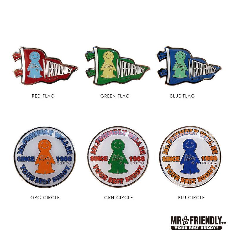 【MRF】 FR.ピンバッチ-D(6種)