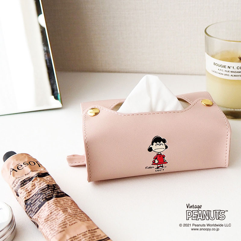 2021SS【tente】Vintage Peanuts ポケットティッシュケース(6種類)