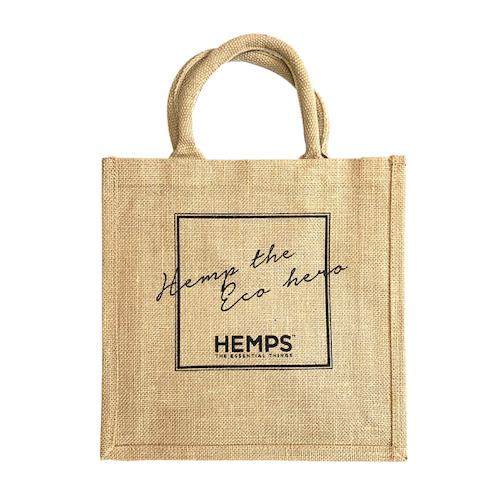 HEMPS オリジナル ジュートバック
