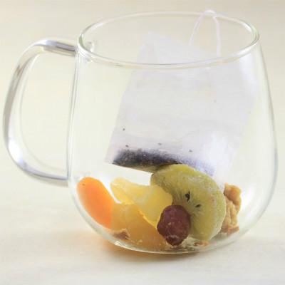 果実園のフルーツハーブティー[2回分]|ドライフルーツティー
