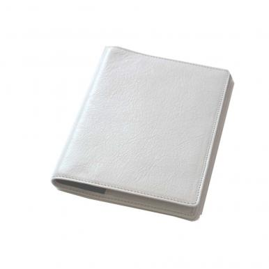 数量限定【通販限定】 本革手帳カバー(ホワイト)A6【ネコポス(メール便)不可】[3801]