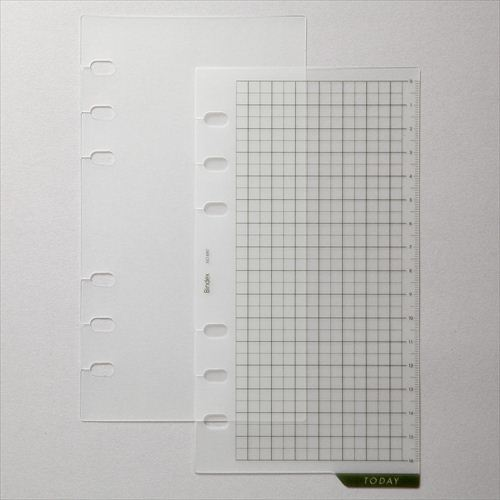 【バイブル】ガイド板(インデックス・スケール付)[680]