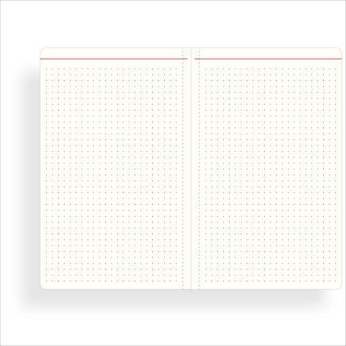ペイジェム カンタカルタ ドットグリッドノートブック A5 スリム(キッチン)[PCCNB0102]