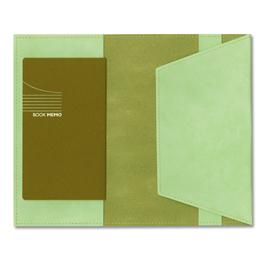 BOOKMAMブックマム(新書サイズ) ペールグリーン[EBC211]