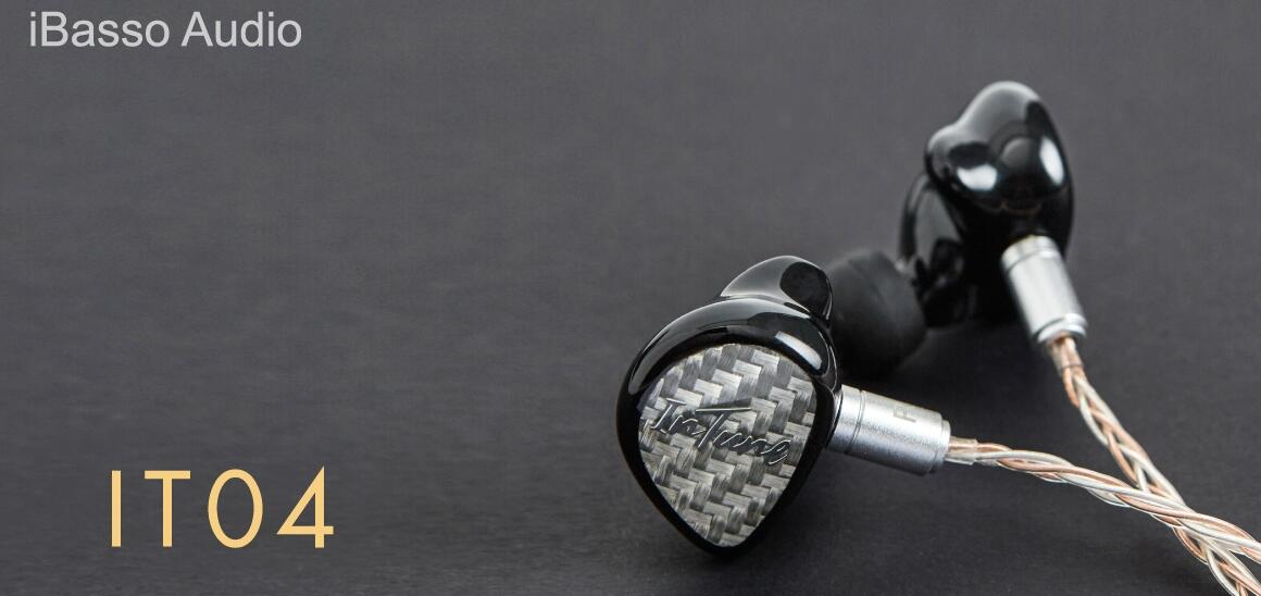 【SALE】iBasso Audio IT04 Silver