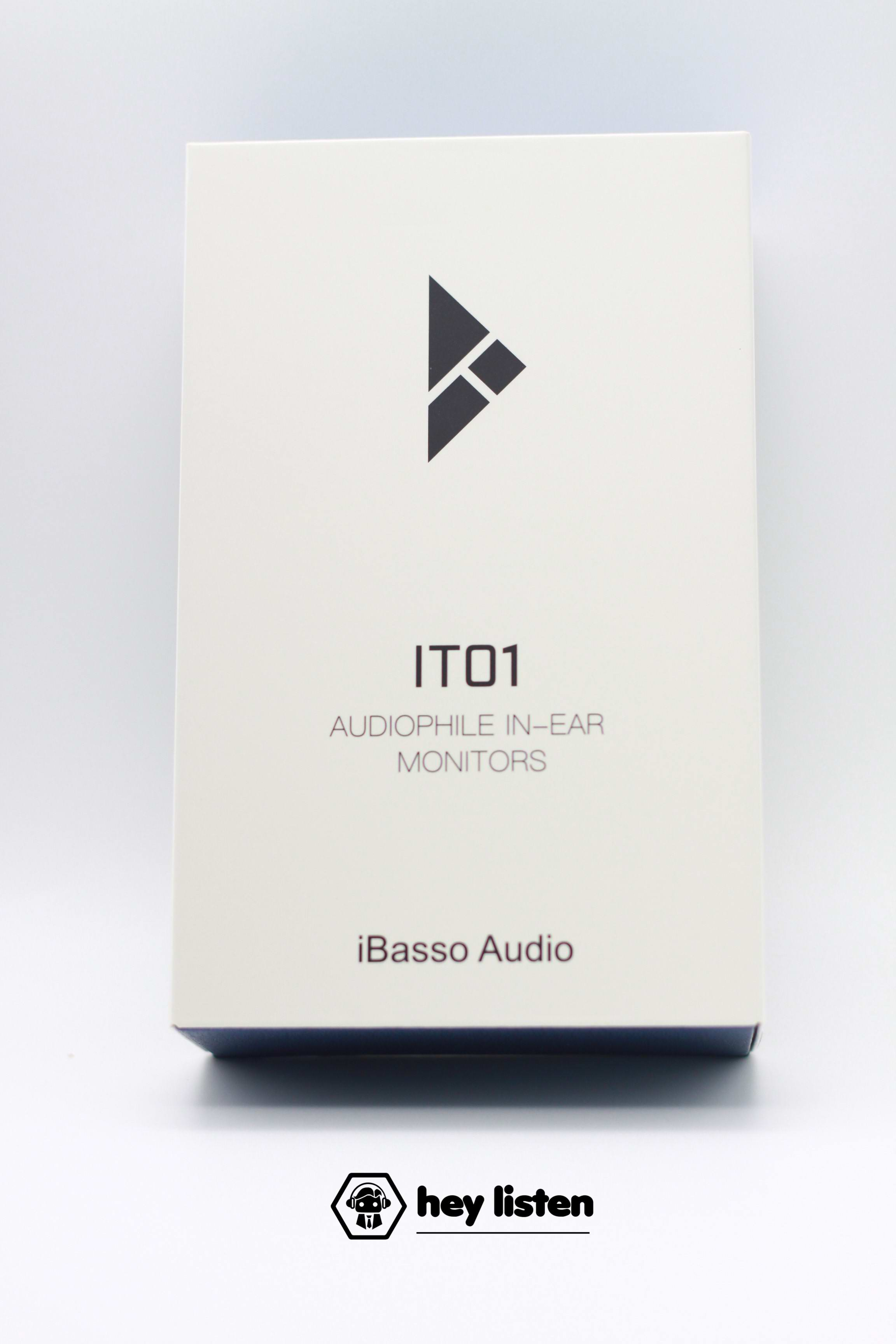 【SALE】iBasso Audio  IT01 Red+Blue