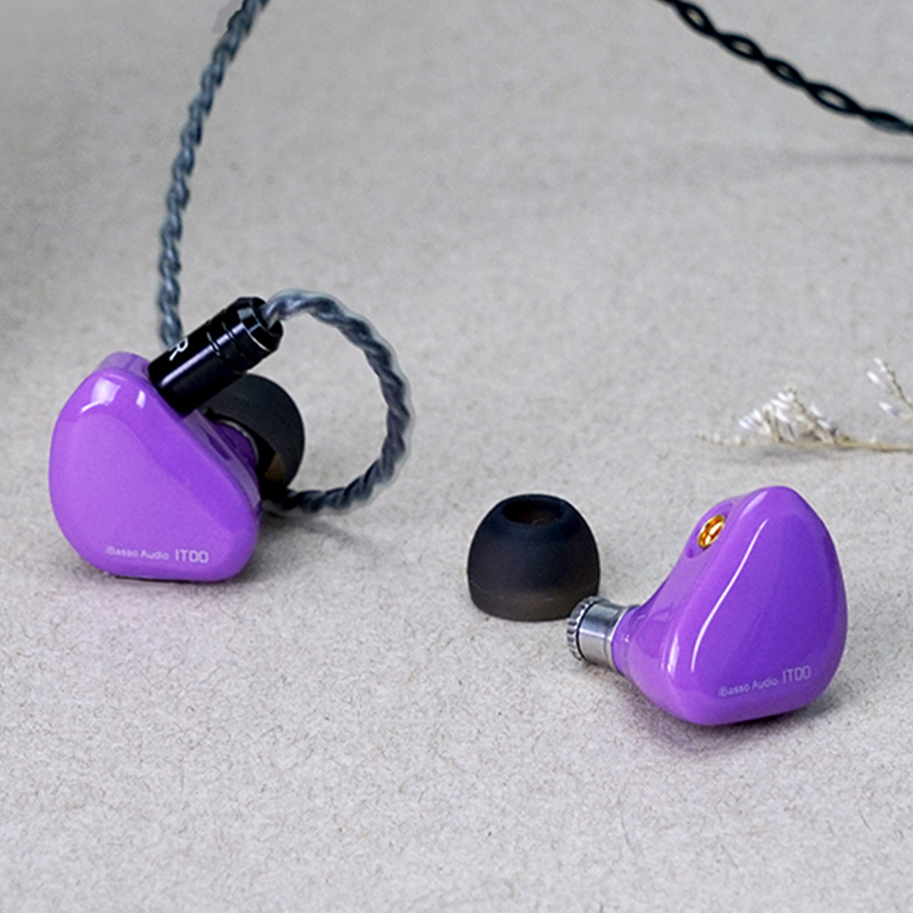 【B級品】iBasso Audio IT00 バイオレット