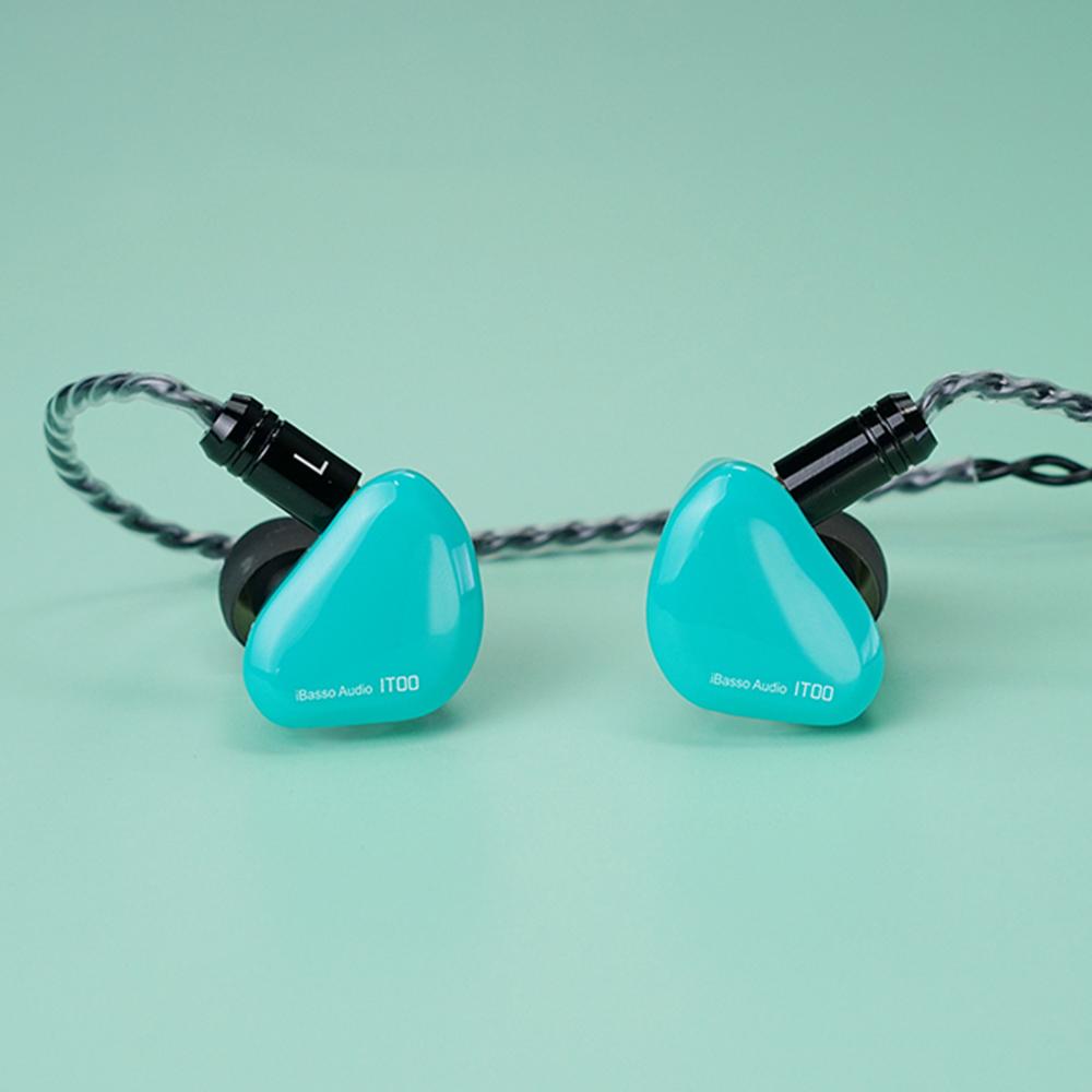 【B級品】iBasso Audio IT00 グリーン